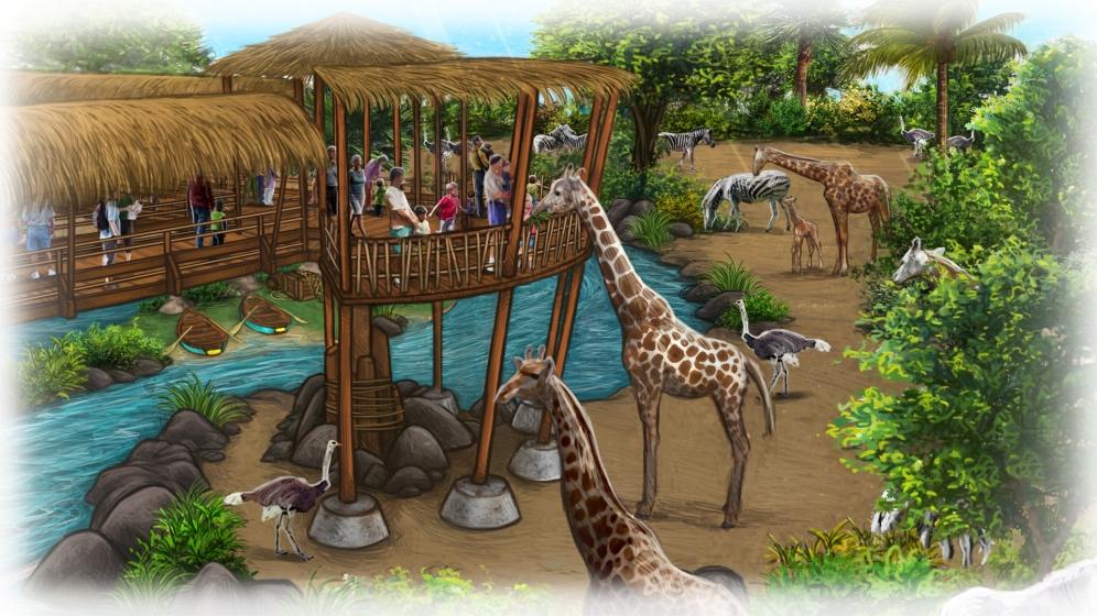16_Aventura Selvagem_Alimentação das Girafas_